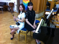 Chinese two string violin and piano recital